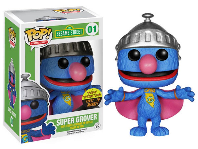 Illustration for article titled Funko continues to monopolise your wallet with Sesame Street toys