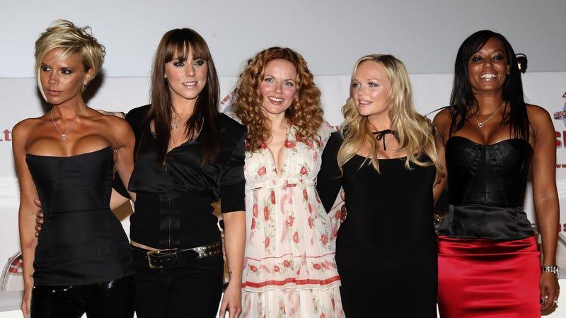 Spice Girls reunion 2007. Image via Getty.