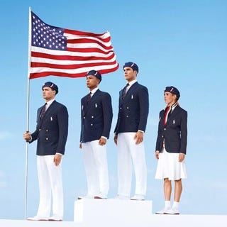 Illustration for article titled The U.S. Olympic Uniforms Are Socialist Propaganda, According To Pro-American Internet Commenters