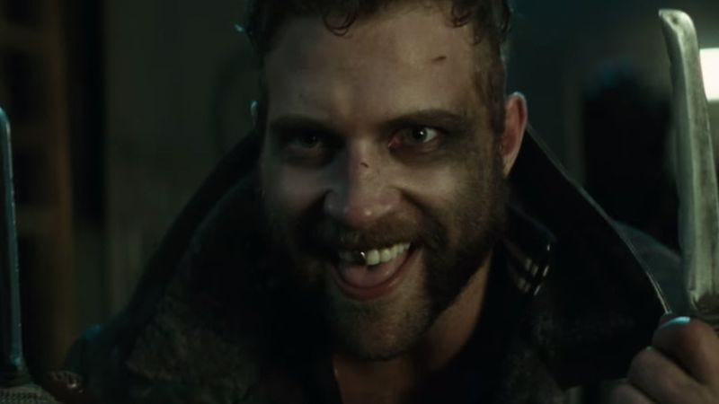Jai Courtney as Captain Boomerang in Suicide Squad (2016)