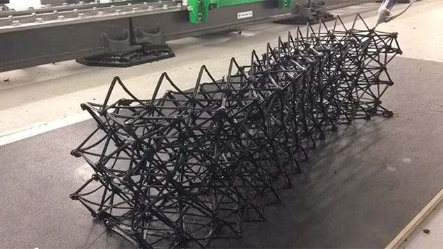 dieless forming using 3d printer of A dieless forming process of carbon fibre reinforced plastic parts using a 3d printer was developed to manufacture three-dimensional mechanical parts.