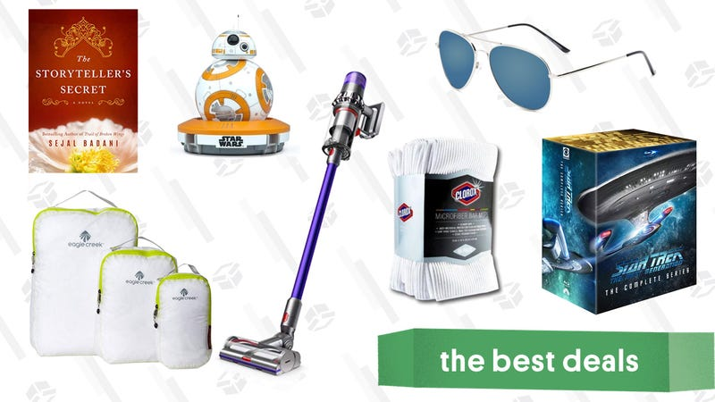 Illustration for article titled Sunday's Best Deals: Dyson Cordless Vacuums, Star Trek: TNG, Microfiber Towels, and More