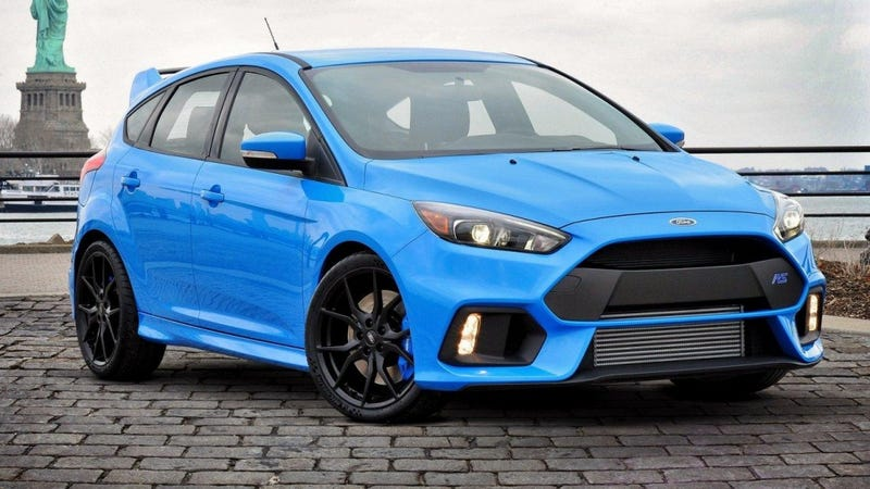 Illustration for article titled Apparently the Focus RS is going to be quite rare