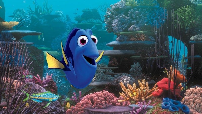Dory in Finding Dory: All images courtesy of Walt Disney Company