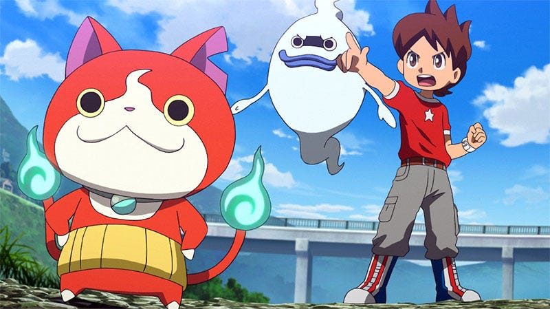 Illustration for article titled Star Wars: The Force Awakens Was Beaten In Japan By...Yo-Kai Watch