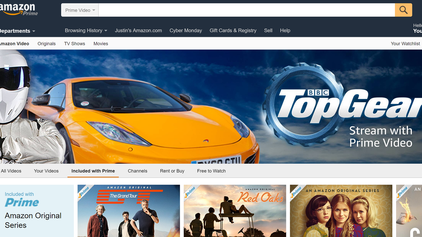 you can now stream seasons 2 through 17 of top gear on amazon prime. Black Bedroom Furniture Sets. Home Design Ideas
