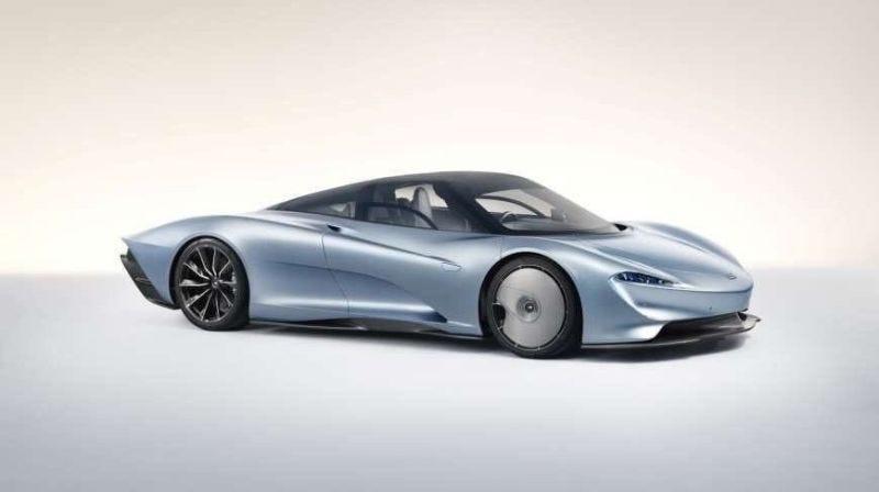 Illustration for article titled El sucesor del McLaren F1 es una monstruosidad de más de 1000 caballos que parece salida del futuro