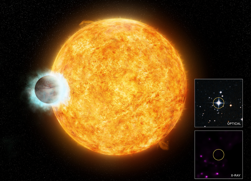 Illustration for article titled This Massive Planet Is Causing Its Parent Star To Age Prematurely