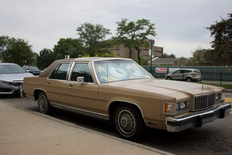 a 1985 mercury grand marquis will make you feel like american royalty. Black Bedroom Furniture Sets. Home Design Ideas