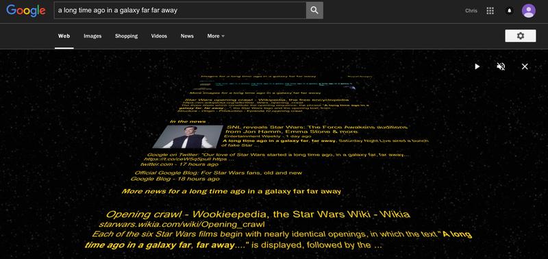 Illustration for article titled Google's Got a Fantastic New Star Wars Easter Egg