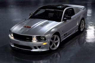 Illustration for article titled SMS 25th Anniversary Mustang Concept Has 720 Candle-Extinguishing Horsepower