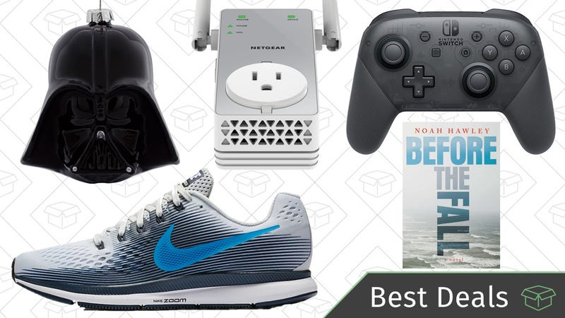 Illustration for article titled Tuesday's Best Deals: Zappos, Nike, Nintendo Switch Accessories, and More