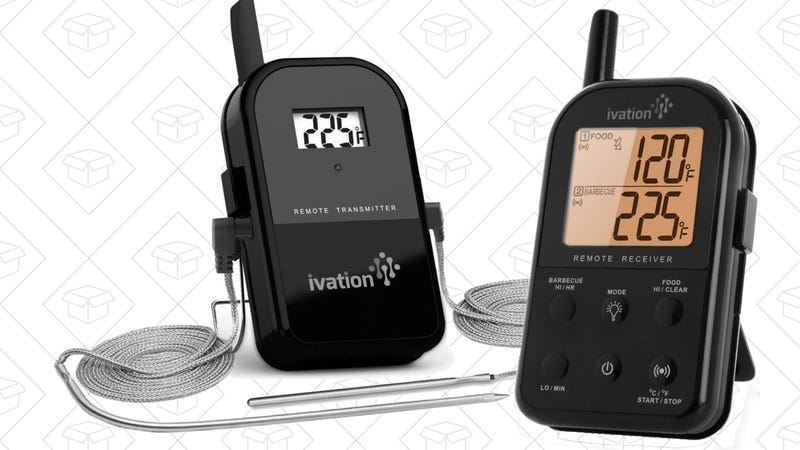 Ivation Long Range Wireless Cooking Thermometer, $30