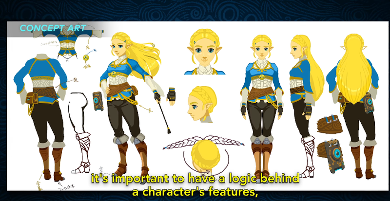 Illustration for article titled At First, Nintendo Couldn't Agree On How To Depict Zelda In Breath of the Wild