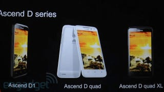 Illustration for article titled Huawei's Ascend D Quad Phone Looks Ferocious