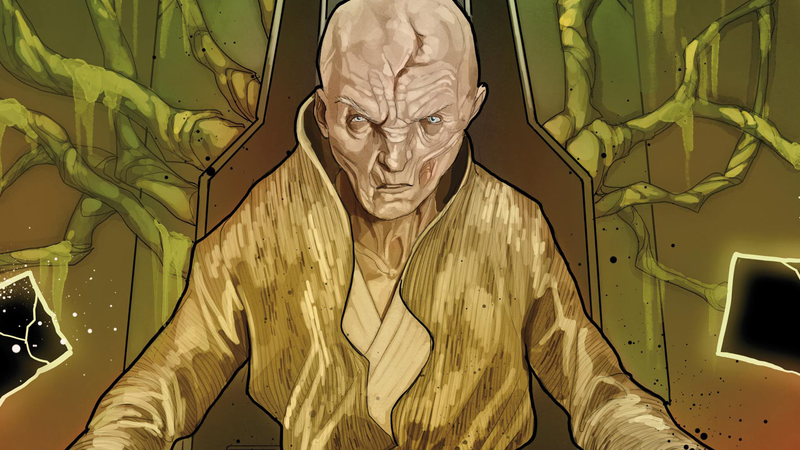 The Next Marvel Star Wars Miniseries Includes a Teeny Bit of Snoke Backstory