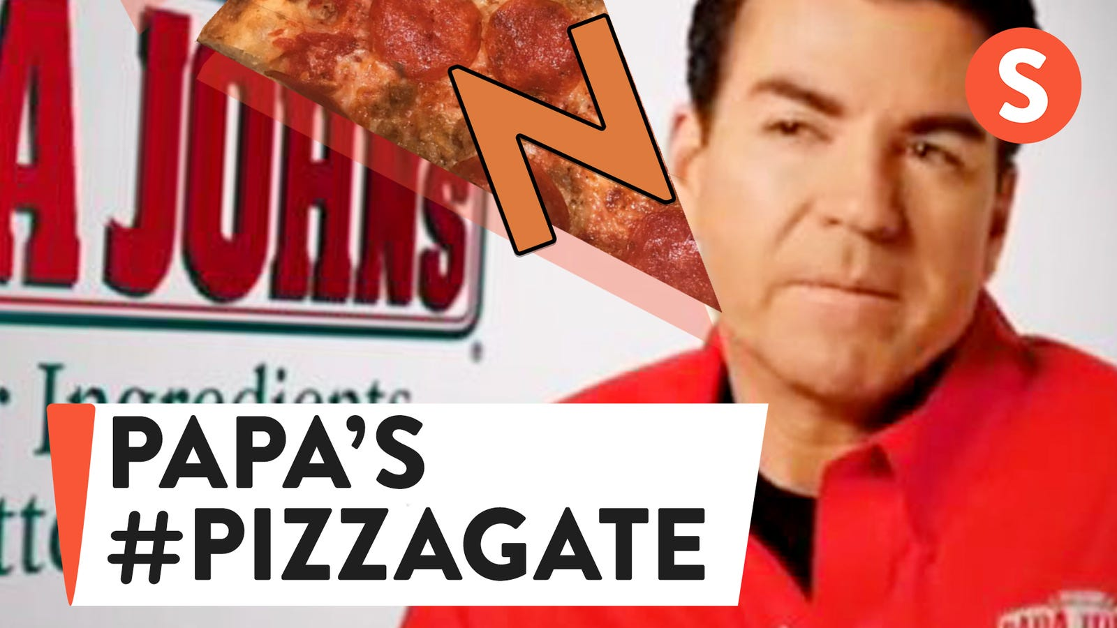 Resultado de imagen de papa john  pizzagate