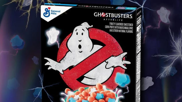 You Had One Job, Ghostbusters: Afterlife Cereal