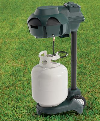 Illustration for article titled Cordless Propane Mosquito Trap Gives You Al Fresco Bug Jerky