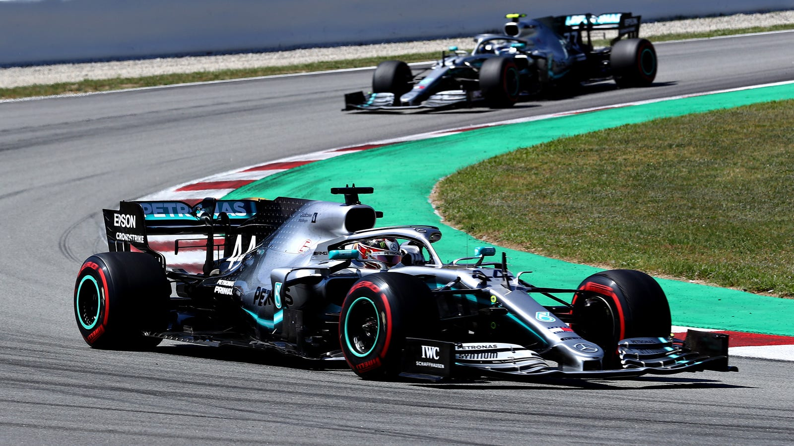The Mercedes F1 Team Figured Out How To Hack Its Steering Into An