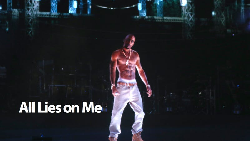 Illustration for article titled Tupac Hologram Wasn't a Hologram
