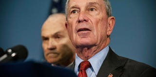 New York City Commissioner Ray Kelly and Mayor Michael Bloomberg (Andrew Burton/Getty Images)