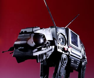 Illustration for article titled AT-AT Walker Boombox Is So Awesome I Want to Cry