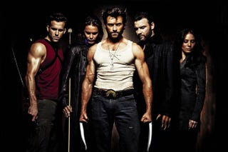 Illustration for article titled Caption This Promo Pic From Reshoot-Happy Wolverine