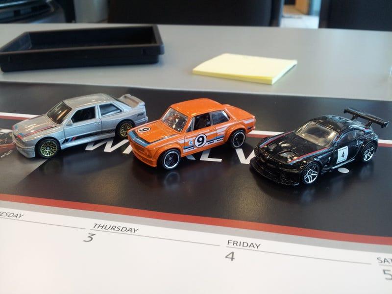Illustration for article titled HWEP: My BMW fleet on my desk