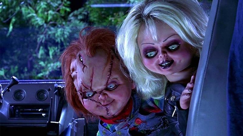 Chucky and his bride.