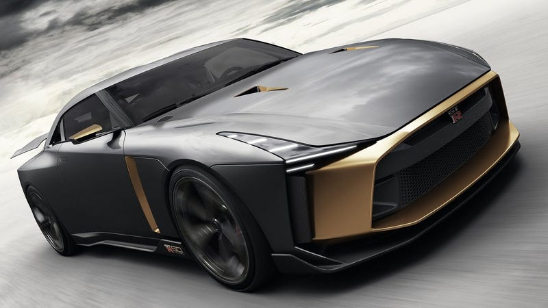 Illustration for article titled Buy The Nissan GT-R50 By Italdesign For $1.1 Million And Really Upset Some People