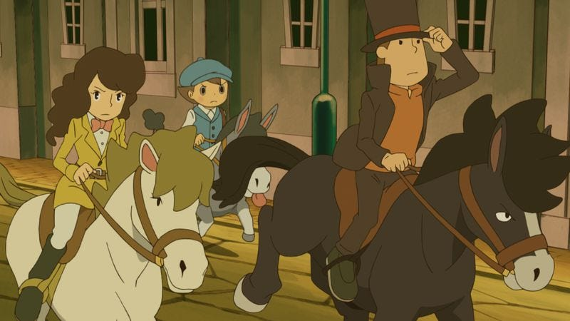 Illustration for article titled Readers profess their love for the wacky world of Professor Layton