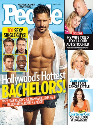 Illustration for article titled Joe Manganiello and His Abs Named People's Hottest Bachelor