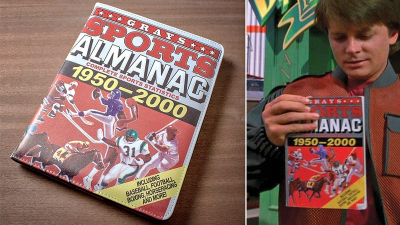 Bttf S Grays Sports Almanac Ipad Case Only Makes You Rich