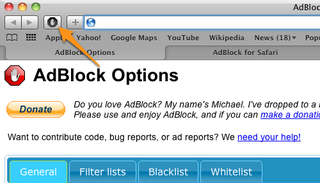 Illustration for article titled AdBlock for Safari Released, Includes All the Usual Customizable Goodness