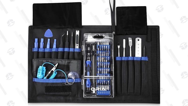 Oria 76-in-1 Gadget Repair Toolkit | $15 | Amazon | Promo code HA11OROR