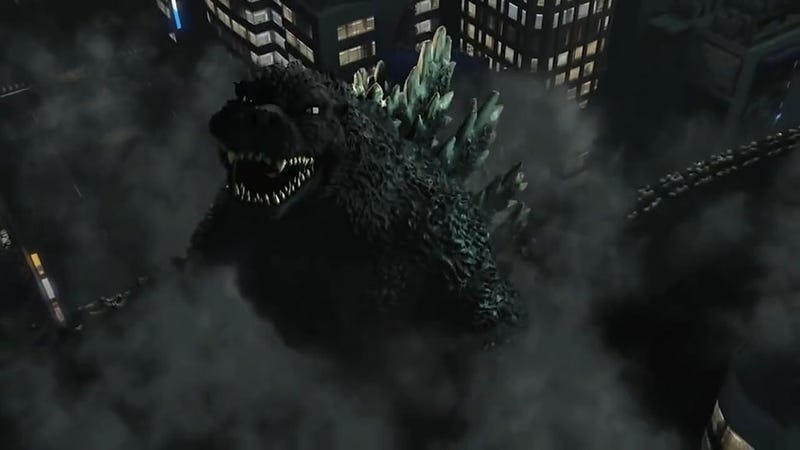 Illustration for article titled Godzilla Stomps Out New Features on the PS4 [Updated]
