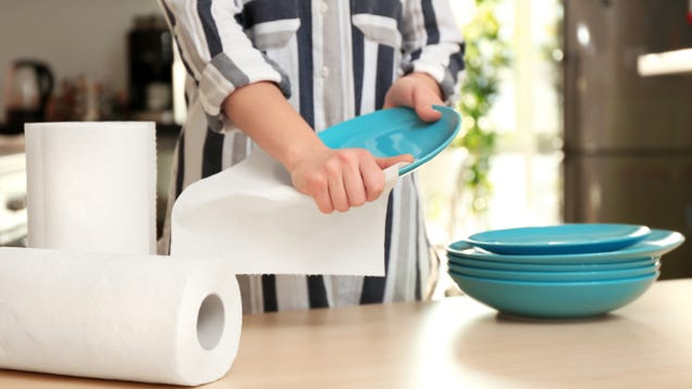 You're Probably Using Too Many Paper Towels