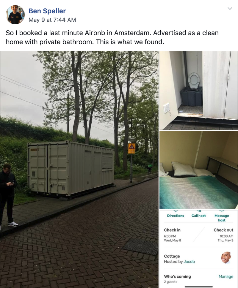 Clean Home' With 'Private Bathroom' on Airbnb Just a Roadside