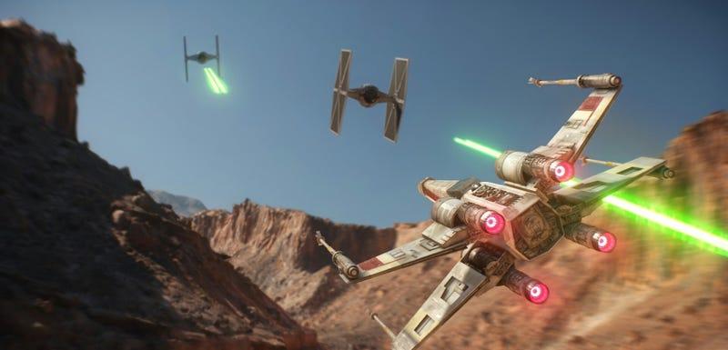 Illustration for article titled El primer tráiler oficial deStar Wars: Battlefrontya está aquí