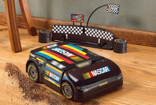 Illustration for article titled NASCAR Inspired Robo Vacuum
