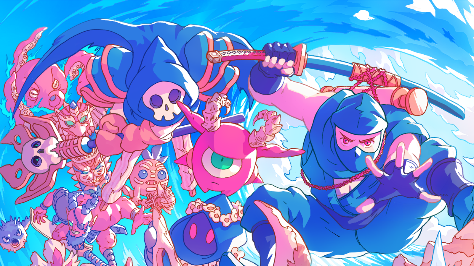 QnA VBage The Messenger's New Island DLC Is A Perfect Substitute For A Day At The Beach