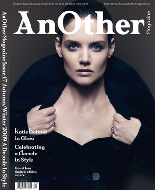 """Illustration for article titled Katie's Career As Cover Subject; Marc Says Anna Is """"Very Maternal"""""""