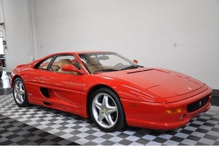 Illustration for article titled Brand new 1998 Ferrari F355 is for sale