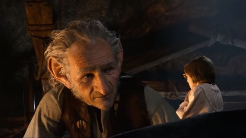 "Screenshot: ""The BFG (Big Focking Guy) Trailer"" (YouTube)"