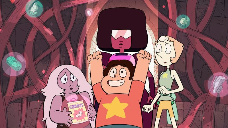 Illustration for article titled A Steven Universe throwback takes two steps forward and one step back
