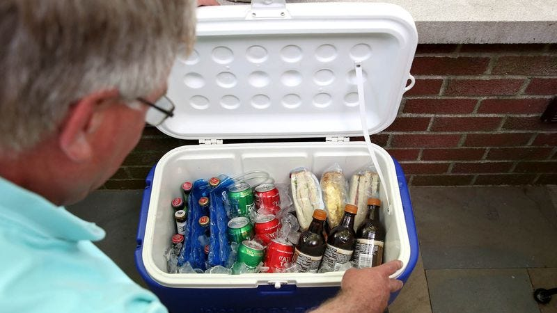 Illustration for article titled Dad's Eyes Well Up At Sight Of Perfectly Packed Cooler