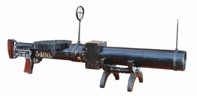 machine guns of ww1