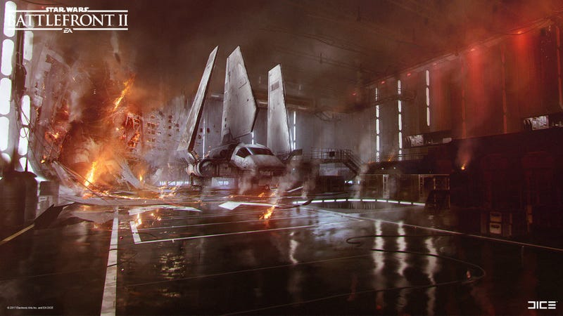 The Art Of Star Wars: Battlefront II