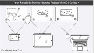 Illustration for article titled When Will Apple Integrate These Pico Projectors It Just Patented?